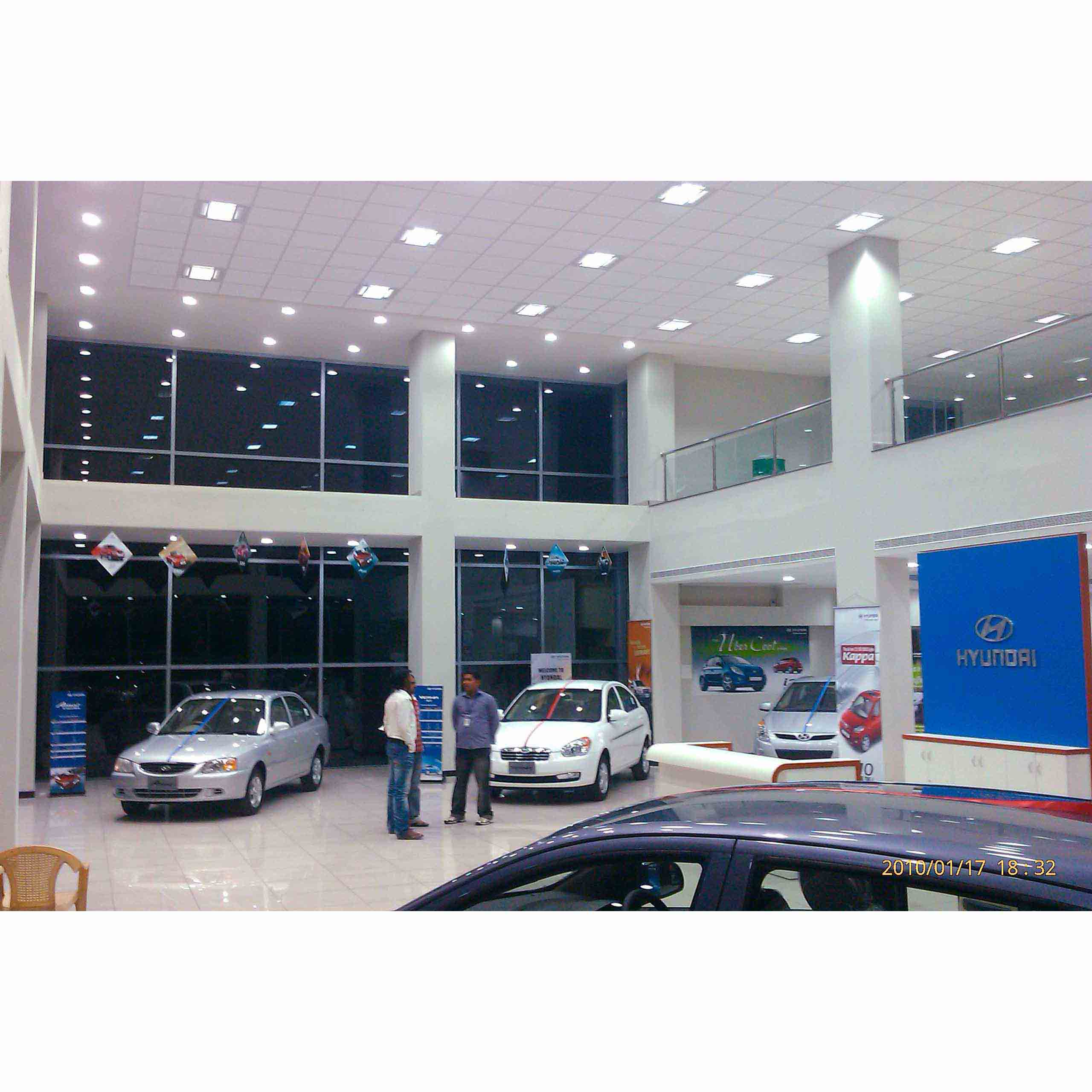 Hyundai Showroom designed by Architects Ravi & Neelima Siddhartha