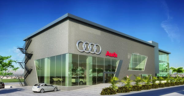 Audi Showroom Designed by Architects Ravi & Neelima Siddhartha